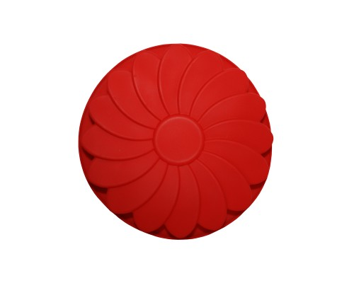"""Форма силиконовая """"Fleur"""" красного цвета"""