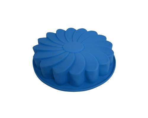 """Форма силиконовая """"Fleur""""  голубого цвета"""