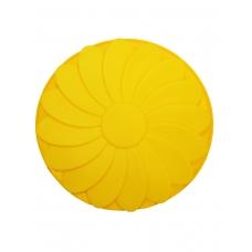 """Форма силиконовая """"Fleur""""   желтого цвета"""