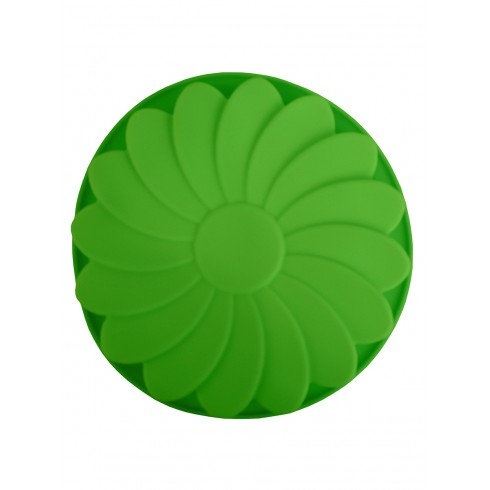 """Форма силиконовая """"Fleur"""" зеленого цвета"""
