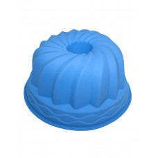"""Форма силиконовая """"Cake""""  голубого цвета"""