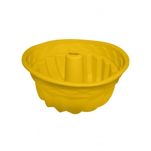 """Форма силиконовая """"Cake"""" желтая"""