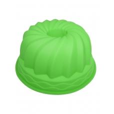 """Форма силиконовая """"Cake""""  зеленого цвета"""
