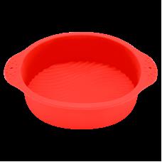 Форма для выпечки красного цвета