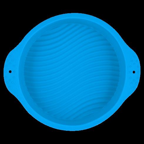 Форма силиконовая голубого цвета
