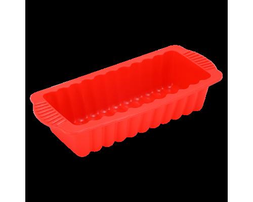 Форма для выпечки хлеба красного цвета