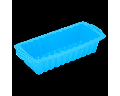 Форма для выпечки хлеба голубого цвета