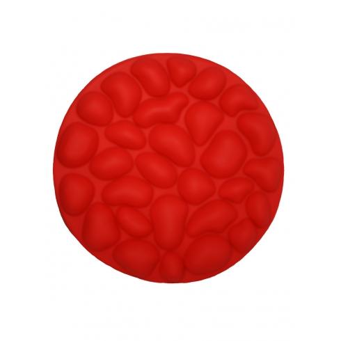 """Форма силиконовая """"Bubbles""""  красного цвета"""