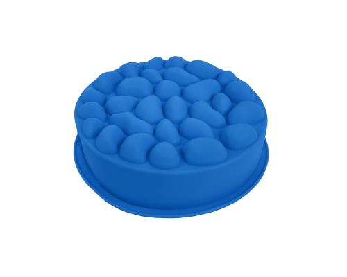 """Форма силиконовая """"Bubbles"""" голубого цвета"""