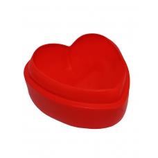 """Форма силиконовая """"Love""""  красного цвета"""