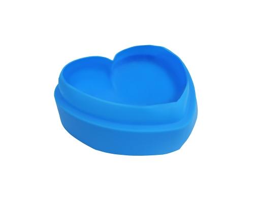 """Форма силиконовая """"Love""""  голубого цвета"""
