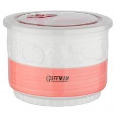 Контейнер 1,5 л c вакуумной крышкой, розового цвета