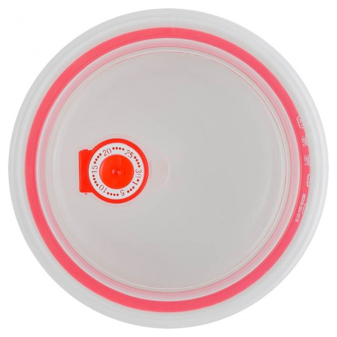 Набор контейнеров Love с вакуумной крышкой, белого цвета, 0,85 л, 0,6 л, 0,25 л