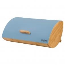 Хлебница Guffman из высококачественного бамбука, голубого цвета