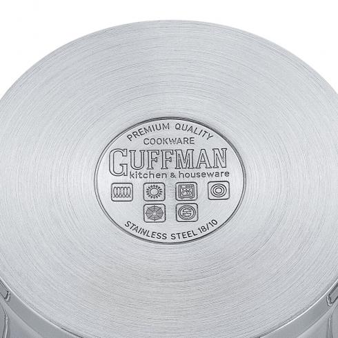Кастрюля 16 см, 1,9 л Diamond со стеклянной крышкой и сатиновыми металлическими ручками, индукция