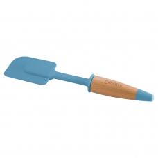 Лопатка кулинарная силиконовая, голубого цвета