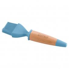 Кисть кондитерская силиконовая, голубого цвета