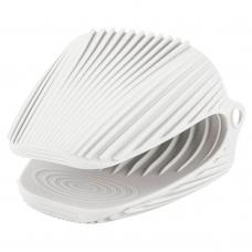 Прихватка силиконовая, белого цвета