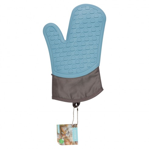 Перчатка из силикона, голубого цвета