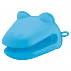 Прихватка силиконовая для печи, голубого цвета