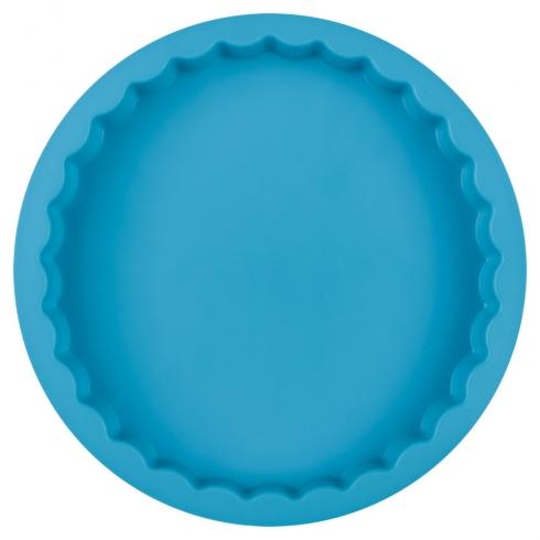 Форма для выпечки силиконовая, голубого цвета