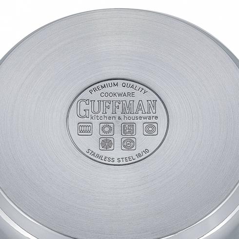 Кастрюля 16 см, 1,6 л Miracle со стеклянной крышкой и эргономичными ручками из нержавеющей стали, индукция