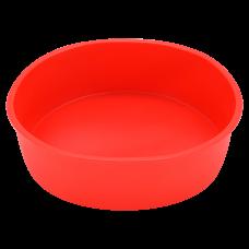 Форма для выпечки силиконовая, красного цвета