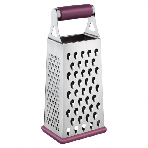Терка 4-х стор. из НЖС, фиолетового цвета